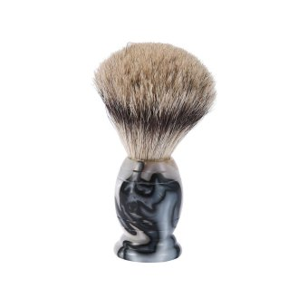 Harga moob 100% Pure Badger Shaving Brush - For Safety Razor, Double Edge Razor, Staight Razor Or Shaving Razor, Good For Your Skin - intl