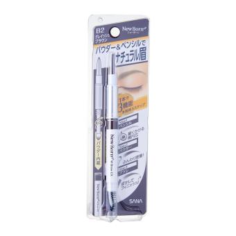 Harga SANA New Born W Multifunctional Eyebrow Pencil B2 (Grayish Brown)