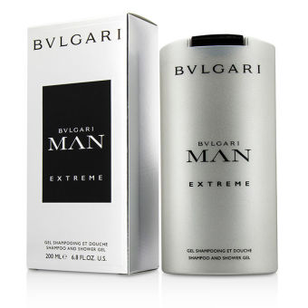 Harga Bvlgari Man Extreme Shampoo Shower Gel 200ml/6.8oz (Intl) - intl