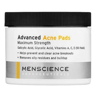 Harga MenScience Advanced Acne Pads (50 pads)