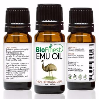 Biofinest Emu Organic Oil (100% Pure Organic Carrier Oil) 10ml