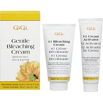 Harga GiGi - Gentle Bleaching Cream For Face. Arm & Leg Hair 1.5 oz - intl
