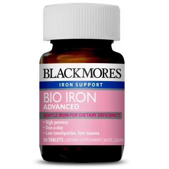 Harga Blackmores Bio Iron Advanced 30 Tablets