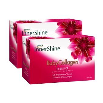 Harga BRAND'S® InnerShine® Ruby Collagen Essence Bundle Pack