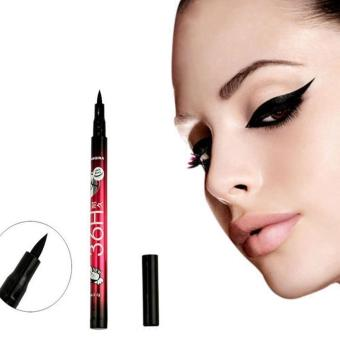 Harga Smooth Waterproof Make Up Beauty Comestics Black Eyeliner Eye Liner Pencil Hot - intl