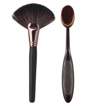 Harga HOT Face Powder Blusher brush +Pro Makeup Blush Brush Foundation Tool