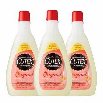 Harga Cutex Nail Polish Remover / Original 3 x 200ml