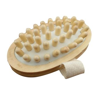 Harga Wood Wooden Massager Cellulite Reduction - intl