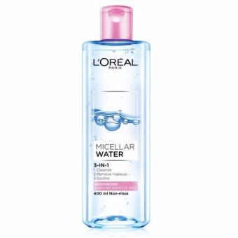 Harga L'Oreal Paris Micellar Water Moisturizing (Pink) 400ml