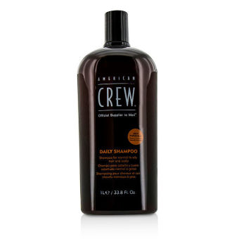 Harga American Crew Men Daily Shampoo (For Normal to Oily Hair and Scalp) 1000ml/33.8oz (Intl)