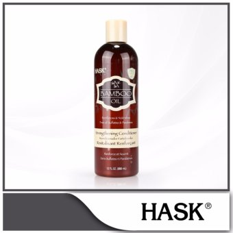 Harga HASK Bamboo Oil Strengthening Conditioner 355ml