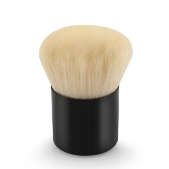 Harga La Vie Kabuki Mini Makeup Tool Face Powder Blush Brush (Black)