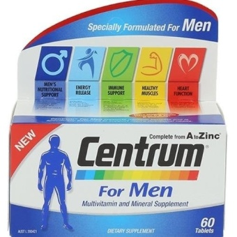 Harga Centrum Advance For Men 60tabs