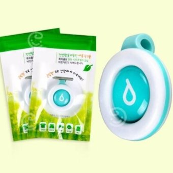Harga Bikit Guard Repellent Clip Water Blue x 2 Pcs