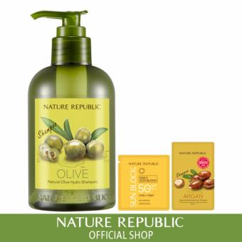 Harga Nature Republic Natural Olive Hydro Shampoo