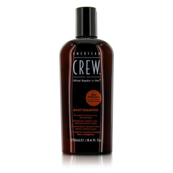 Harga American Crew Men Daily Shampoo (For Normal to Oily Hair and Scalp) 250ml/8.4oz (Intl)