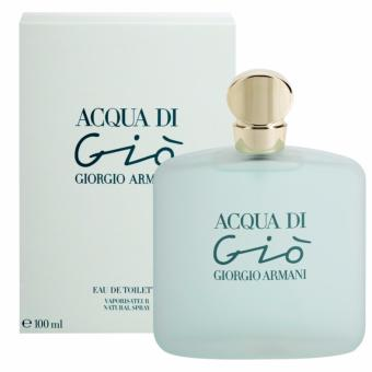 Harga Giorgio Armani Aqua Di Gio EDT Spray 100ml Ladies