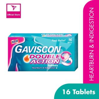 Harga Gaviscon Double Action Tablet 250Mg 16'S