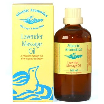 Atlantic Aromatics Lavender Massage Oil 100% Natural
