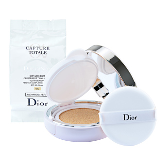 Harga Christian Dior Capture Totale Dream Skin Perfect Skin Cushion SPF50- PA+++ 2 x 0.5oz, 2 x 15g (# #010) - intl