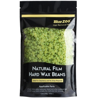 Harga Ishowmall 250g No Strip Depilatory Hot Film Hard Wax Pellet Waxing Bikini Hair Removal Bean Green tea - intl