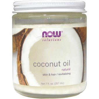 Harga Now Foods, Coconut Oil, Natural 207ml