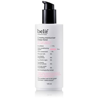 Harga Belif Creamy Moisturizer Deep Moist 125ml (EXPORT)