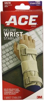 Harga NEW STOCK! ACE Deluxe Wrist Stabilizer, Right, Small/Medium