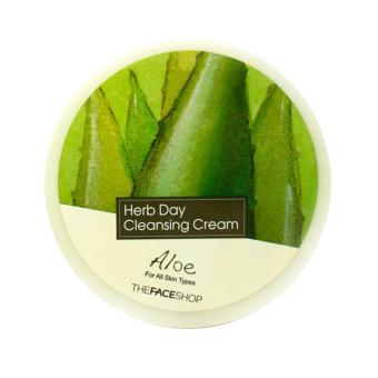 Harga The Face Shop Herb Day 365 Cleansing Cream (150ml) Aloe