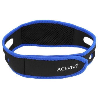 Harga Sunweb ACEVIVI Nylon Snore Stopping Chin Strap Soft Sleep Anti Snore Strap - intl