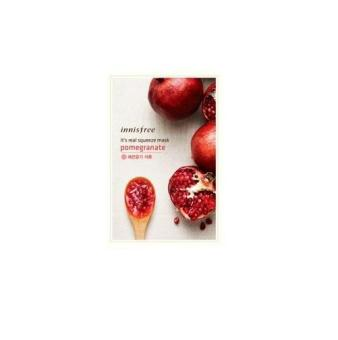 Harga Innisfree Its Real Squeeze Mask - Pomegranate