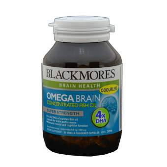 Harga Blackmores Omega Brain 60's (Concentrated Fish Oil - Dha)