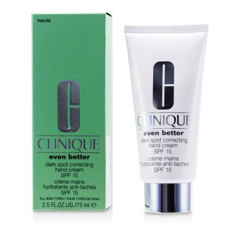 Harga Clinique Even Better Dark Spot Correcting Hand Cream SPF 15 75ml/2.5oz