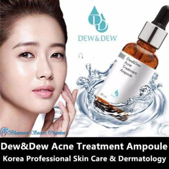 Harga DEW & DEW Acne Treatment Ampoule 30ml Made in Korea
