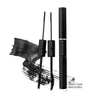 Harga April Skin Magic Cara / Dual type mascara #1 Long lash and Skinny /100% Authentic direct from Korea/w Gift Sample - intl