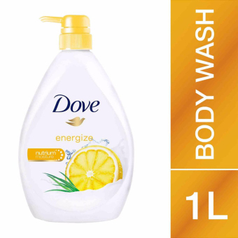 Harga Dove Go Fresh Energize Body Wash 1L