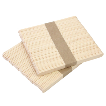 Harga Cocotina 50 Pcs Wooden Waxing Spatula Tongue Depressor Tattoo Wax Medical Stick - Intl