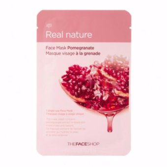 Harga The Face Shop Real Nature (Pomegranate) 1 Piece