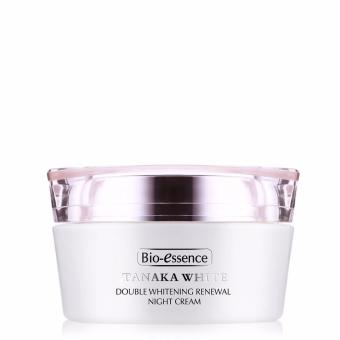 Harga Bio-essence Tanaka White Double Whitening Renewal Night Cream 50g