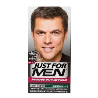 Harga Just For Men Shampoo-In Hair Color - Dark Brown