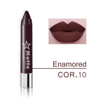 Miss Rose Brand lips Matte Moisturizing Lipstick Makeup Lipsticks Waterproof matte Lip gloss Mate Lipsticks Make up 10 - intl
