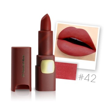 Miss Rose Lipstick Matte lips Moisturizing Makeup Lipsticks Waterproof Lip gloss Mate Lipsticks Make up 42 Color - intl