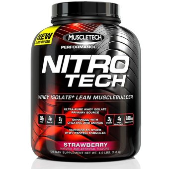 MuscleTech Performance Series NitroTech (3.97lbs) - Strawberry