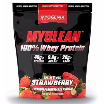 Myogenix Myolean 100% Whey 5 lbs Strawberry