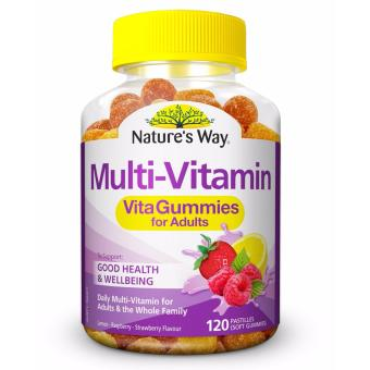 Harga Nature's Way Vita Gummies Adult Multi-Vitamin 120 Pastilles