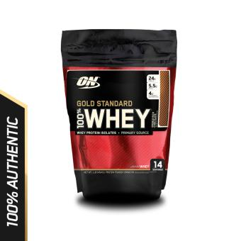 Optimum Nutrition Gold Standard Whey 1 lb - Double Rich Chocolate