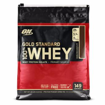 Harga Optimum Nutrition Gold Standard 100% Whey 10 lbs - Double RichChocolate