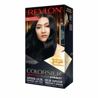 Revlon(R) ColorSilk Buttercream(TM) 21 Blue Black *New Packaging*