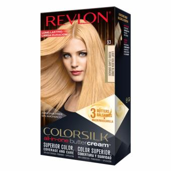 Revlon ColorSilk Buttercream(TM) 93 Light Golden Blonde *New Packaging*