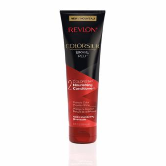 Revlon ColorSilk Nourishing Conditioner(TM)  BRAVE RED(TM)